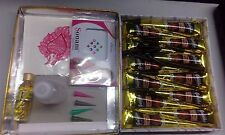 12 Black Henna Cones + APPLICATOR Temporary Tattoo Body Art Ink Hina Kit Mehandi