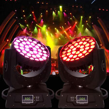 2x 360W 540° Moving Head Bühnenbeleuchtung LED Licht DMX DJ Stage Wash Lichter