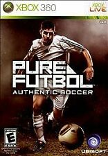 XBOX 360 PURE FUTBOL AUTHENTIC SOCCER BRAND NEW VIDEO GAME