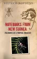 Notebooks from New Guinea: Field Notes of a Tropical Biologist-ExLibrary
