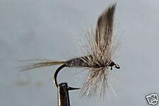 10 x Mouche Sèche Subimago Bleue H14/16/18 fliegen dry fly fishing trout mosca