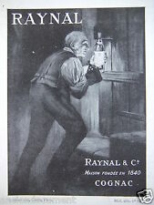 PUBLICITÉ 1943 COGNAC RAYNAL - ADVERTISING