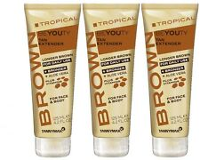3 Stück Tannymaxx Brown Tropical Beyouty Tan Extender a 125 ml. (375 ml.)