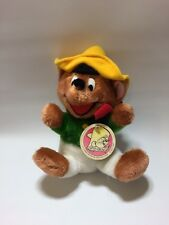 VINTAGE 1971 SPEEDY GONZALES PLUSH DOLL - LOONEY TUNES MIGHTY STAR FIGURE TOY