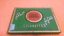 "Lucky Strike "" It's Toasted "" Flat Fifties Cigarettes Tin Case"