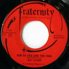 RAY STARR: How Do You Like The Pain / Please, Save Your Love For Me 45 Soul