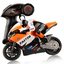 Children Kids JXD 806 Remote Control For RC Orange Motorcycle Motor 1:16 Scale
