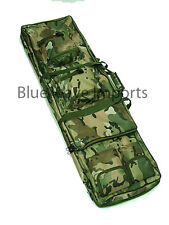 Deluxe Gun Bag Camo  Camouflage 2 Strap Rifle Carry Case Gun Slip - Padded
