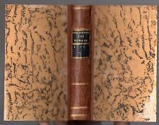 BIBLIOTHEQUE UNIVERSELLE DES ROMANS OCTOBRE 1777 LITTERATURE ANTIQUE CHEVALERIE