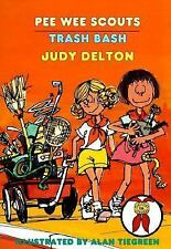 Trash Bash (Pee Wee Scouts, Book 16), Judy Delton, Good Book