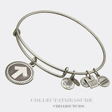 Authentic Alex and Ani Stand Up to Cancer Rafaelian Silver Charm Bangle CBD