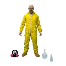 "Breaking Bad Walter White Yellow Hazmat Suit 6"" Action Figure Mezco Heisenberg"