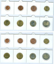 San Marino Euro Coin Set 1 Cents to from different Vintages