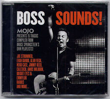 MOJO Bruce Springsteen Boss Sounds 15-trk CD SEALED Calexico Dave Van Ronk