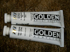 Golden  Acrylics 2-ounce 2 tubes Paint Interference Gold ( fine)