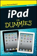 Apple iPad for Dummies Mini Edition 2011, Paperback iPad 1 & 2 - iOS5 Brand  New