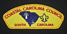 COASTAL CAROLINA COUNCIL OA 550 UN A LI'YI  236 CB FLAP PATCH RARE VARIETY CSP