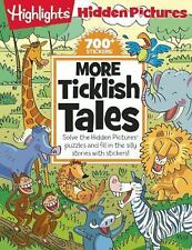 Highlights Hidden Pictures More Ticklish Tales w/700+ Stickers - 2015, Paperback