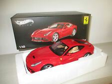 FERRARI F12 BERLINETTA HOTWHEELS ELITE SCALA 1:18