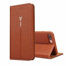 IPhone7 Case Premium PU Leather Detachable Hand Strap Flip Case with Magnetic Cl