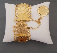 Gold Armband 24 Karat GP Türkisches Kuyumcu Modell Altin Tugra Bilezik Bileklik