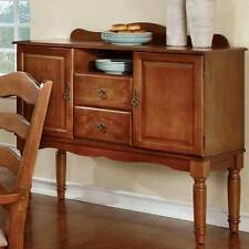 Spring Creek Kitchen Dining Side Server Buffet Table Country Style American Oak