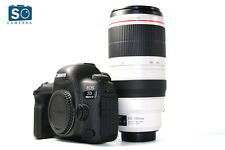 Canon EOS 5D Mark IV DSLR Camera Body w/100-400mm f/4.5-5.6L IS MARK II USM Lens
