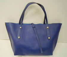 ANNABEL INGALL Large Royal Blue Gold Stud Double Strap Tote Shopper Shoulder Bag