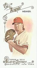 JERED WEAVER 2014 ALLEN & GINTER RED FLAG MINI 16/25! FREE SHIP! ANGELS!