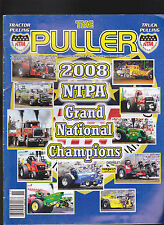 The Puller Magazine November 2008 Tractor Pulling NTPA Grand Nationals
