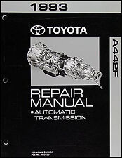 1993 Toyota Land Cruiser Automatic Transmission Repair Manual A442F Shop Rebuild