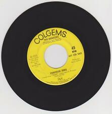 "1968 MONKEES ""PORPOISE SONG-AS WE GO ALONG"" YELLOW PROMO 45RPM, COLGEMS 66-1031"