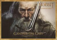 """The Hobbit - RARE Denny's Limited Edition """"Gandalf the Grey"""" Gold Bordered Card"""