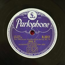 78rpm HUMPHREY LYTTELTON snag it / i like to go back in the evening