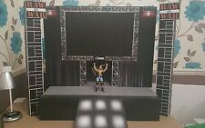 wwe custom raw is war stage (bigger scale)