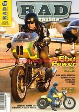 RAD MAGAZINE 19 BMW NINE T R1100 R R80 F800 ST K100 GUZZI 750 DUCATI INDIAN