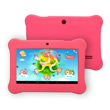 "iRULU 7"" 8GB Android Quad Core & Dual Cam BabyPad Tablet PC for Kid w/ TF Card"