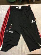 Authentic Adidas AC Milan ACM 1899 MLS Soccer Team Issue Sweat Pants Men's M