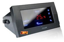 Kesselsteuerung Holzvergaser Regler CS-19 f. Gebläse u. 2 Pumpen m. Touchscreen