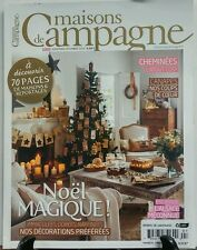 Maisons de Champagne November December 2015 Noel Magique  FREE SHIPPING sb
