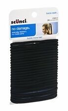 Scunci No Damage Hair Ties Black