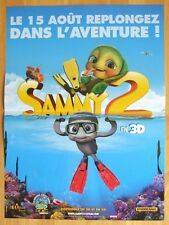 AFFICHE - SAMMY 2 TORTUES DE RIRE