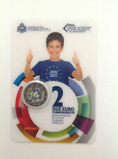 SAN MARINO 2012 UME ENAMELLED COLORED PAINTED COMMEMORATIVE DECADE