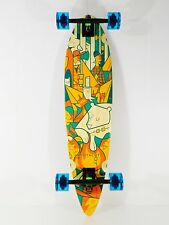 "Landyachtz 36"" x 8.75"" Bamboo Freedom Chief Camping Longboard Complete"