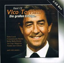 "Best of VICO TORRIANI ""Die großen Erfolge..."" 2CD-Box 49 Tracks Collection OVP"