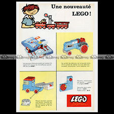 LEGO SYSTEM Large & Small Wheels & Turn Table 314 (1963) Pub Publicité Ad #A1082