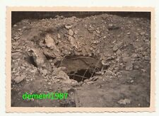 Foto Bunker Volltreffer Ostfront 2 Wk IIWW !