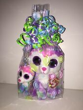 TY IZABELLA HUSKY BEANIE BOOS SET OF 2(REG BEANIE, KEYCLIP) CELLO-NEW, MINT TAGS