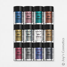 "6 NYX Glitter Powder Face & Body Pigment ""Pick Your 6 Color"" *Joy's cosmetics*"