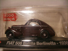Voiture 1/43 STARLINE 1000 FIAT 508 BALILLA Berlinetta 1936 RALLY NEUF